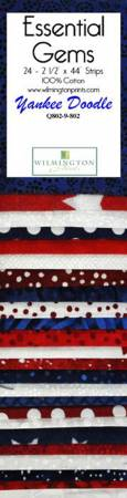 Essential Gems Yankee Doodle (24) 2 1/2 Strips Jelly Roll