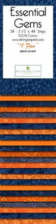 2-1/2in Strips Essential Gems 1 Fan