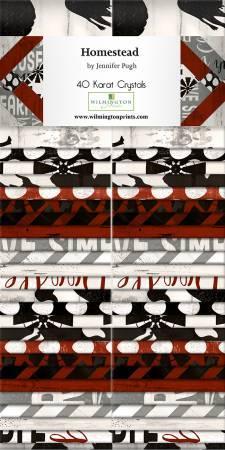Homestead ~ 2-1/2in Strips 40pcs/bundle