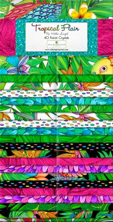 Tropical Flair Jelly Rolls - 2 1/2