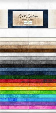 2-1/2in Strips Essential Gems Full Spectrum 40pcs,