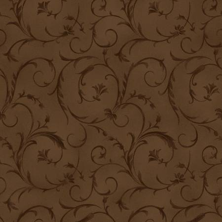Brown Beautiful Backing 108/110in Wide Back