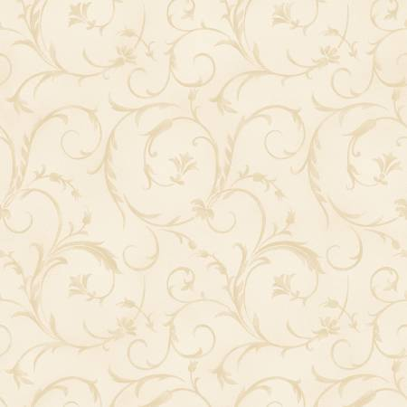 Sweet Cream Beautiful Backing 108/110in Wide Back