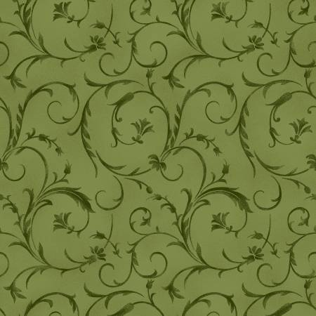 Olive Green Beautiful Backing 108/110in Wide Back