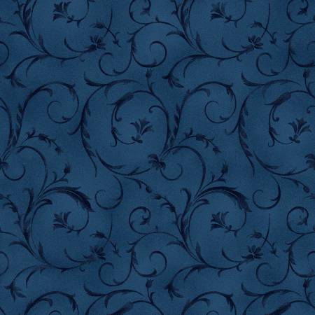 Midnight Blue Beautiful Backing 108in Wide Back