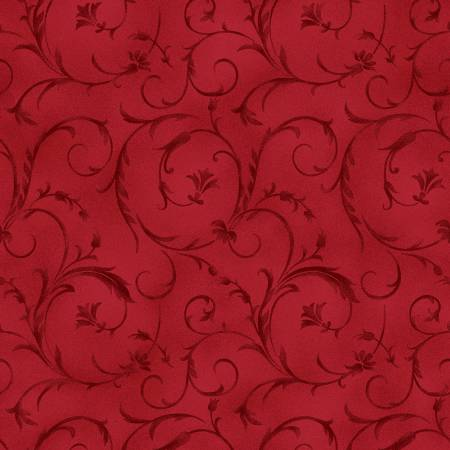 QB100M-R2 Cherry Red Beautiful Backing 108/110in Wide Back