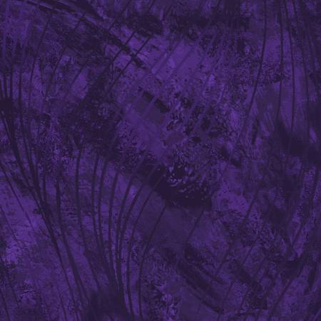 Deep Purple Go With the Flow 108in Wide Back