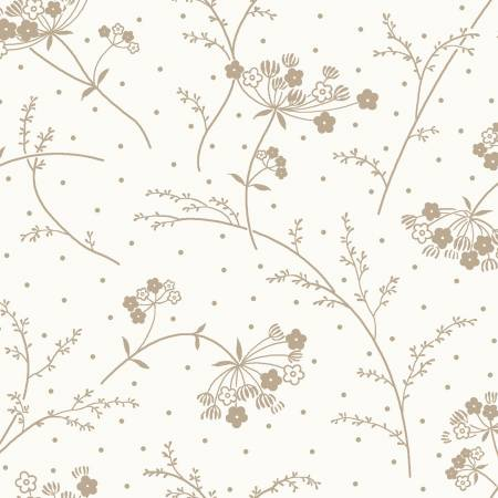 108 Soft White/Taupe Make A Wish by Maywood Studio