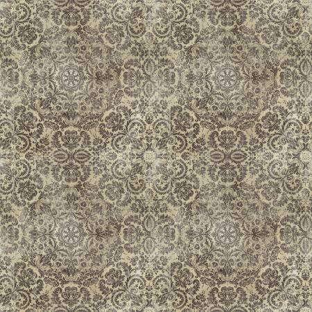 Eclectic Elements-Gothic-Neutral 108in Wide Back