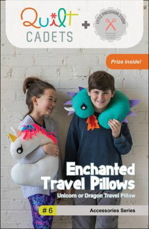 Enchanted Travel Pillows Quilt Cadet #6