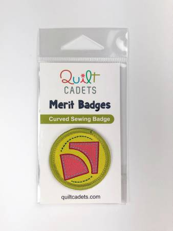 Quilt Cadets Curved Sewing Badge