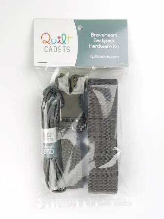 Braveheart Backpack Hardware Kit Grey
