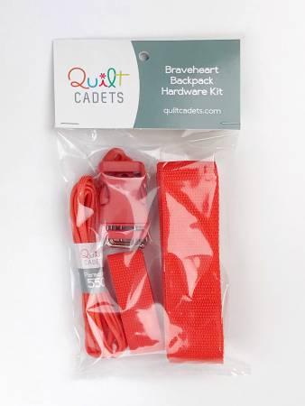 Braveheart Backpack Hardware Kit Orange