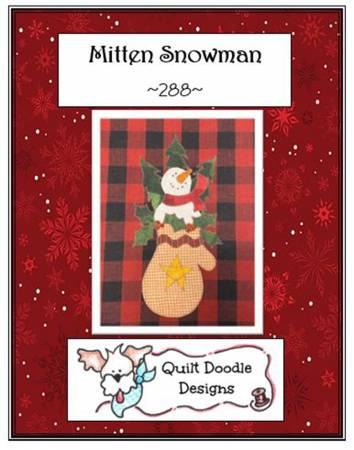 Mitten Snowman