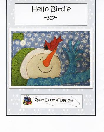 Hello Birdie Mug Rug - PDF