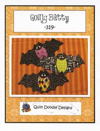 Going Batty Mug Mats Pattern