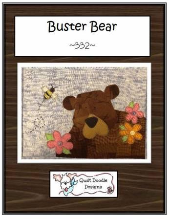 Buster Bear Mug Rug