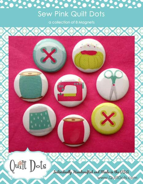Sew Pink 8 Magnets