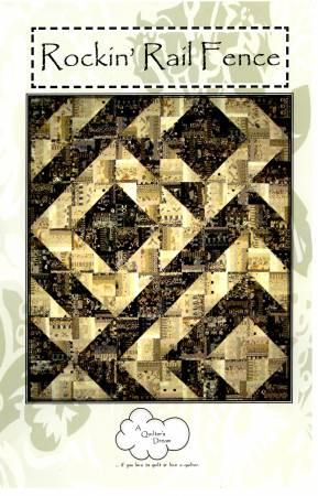 A QUILTER'S DREAM ROCKIN RAIL FENCE