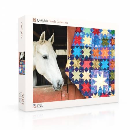 Quiltfolk Puzzle 02 - Barn Blocks