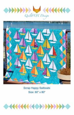 Scrap Happy Sailboats