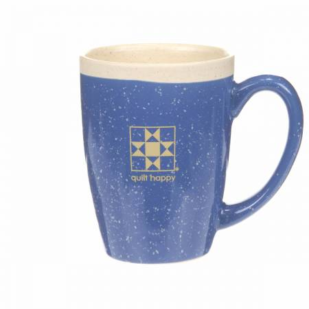 Quilt Happy Blue Retreat Mug - Blue