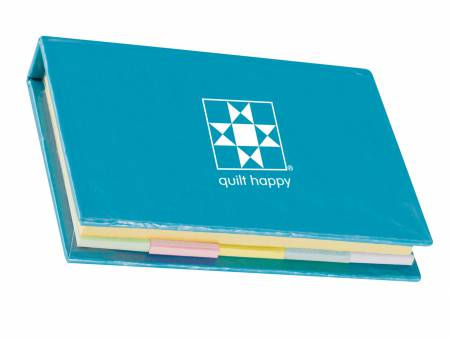 Notepad Sticky Quilt Happy