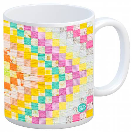 Quilt Happy - Diamonds Vintage Quilt Mug
