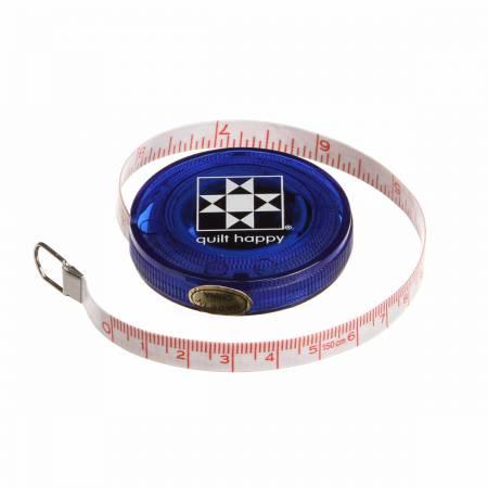 Tape Measure Quilt Happy Pink 5 ft Retractable - copy - copy