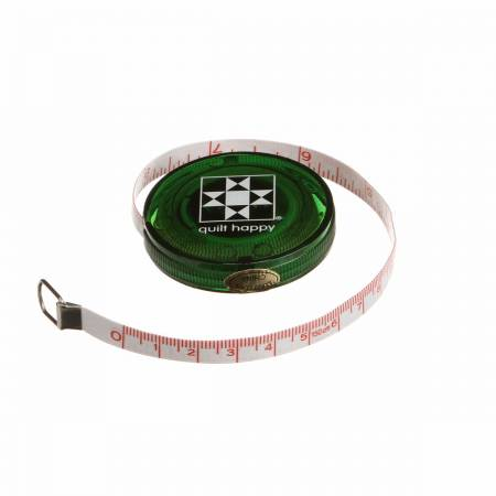 Tape Measure Quilt happy tape measure green