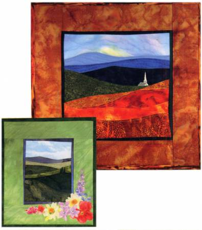 Accidental Landscape Series - Autumn Hills