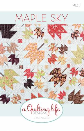 MAPLE SKY/Hazel Plum Quilt Kit