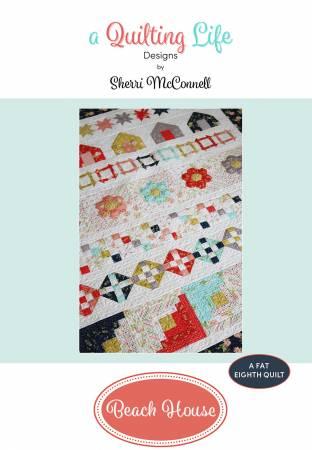 Beach House Row Quilt Pattern