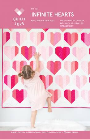 Infinite Hearts Quilt Pattern by
