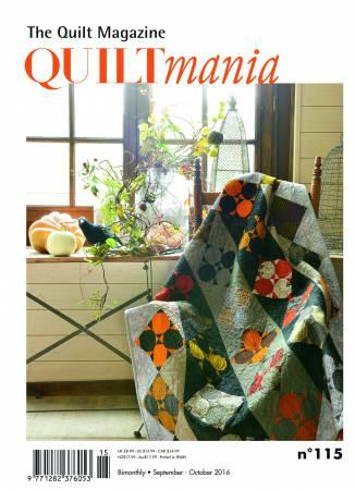 Quiltmania Magazine #115 September - October  2016