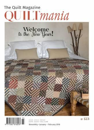 Quiltmania Magazine #123 January-February 2018