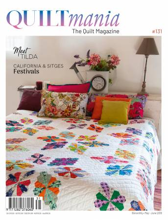 Quiltmania Magazine #131 May-June 2019