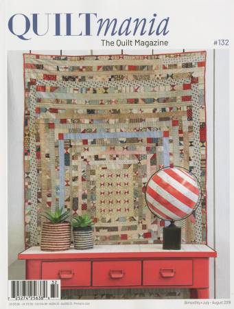 Quiltmania Magazine #132 July-August 2019