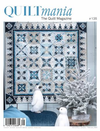 Quiltmania Magazine #135 January-February 2020