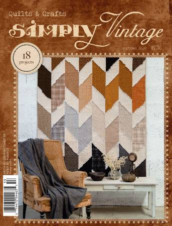 Simply Vintage Quilts & Crafts Magazine - Autumn 2020 - Number 36