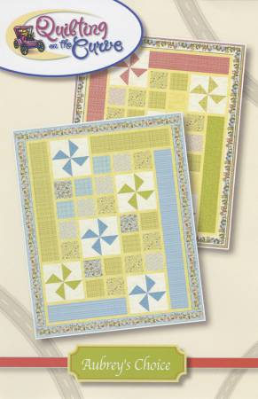 Aubrey's Choice by Quilting on the Curve