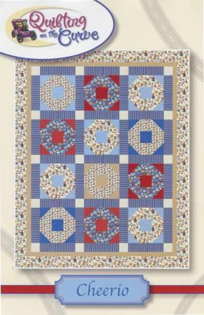 Cheerio pattern by Quilting on the Curve