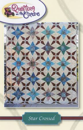 Star Crossed by Quilting on the Curve