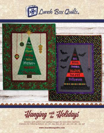 Hanging with the Holidays Machine Embroidery CD