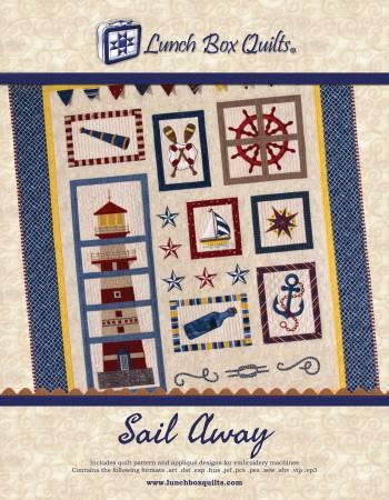 Sail Away Pattern CD QP-SA-DD