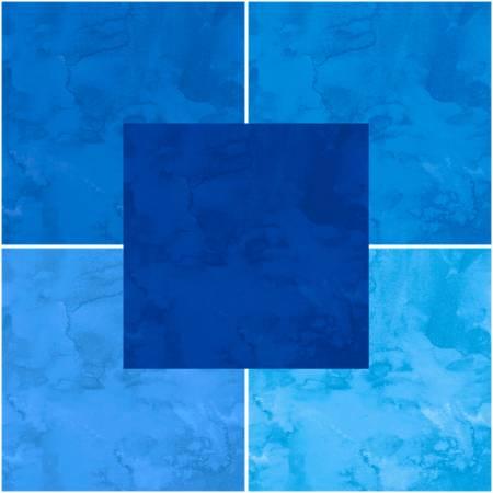 Quilter's Palette - Fluid Textured Blues