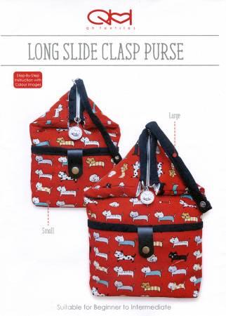 Long Slide Clasp Purse