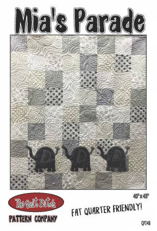 Mia's Parade Quilt Pattern