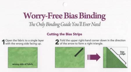 Worry Free Bias Binding Card