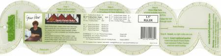 Quick Points Scallop Ruler 1/1/2in